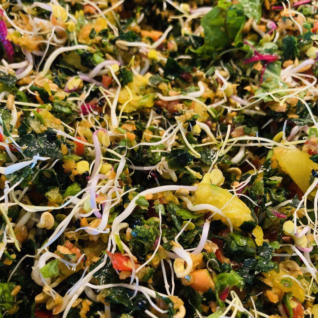 Basis papegaaien salade
